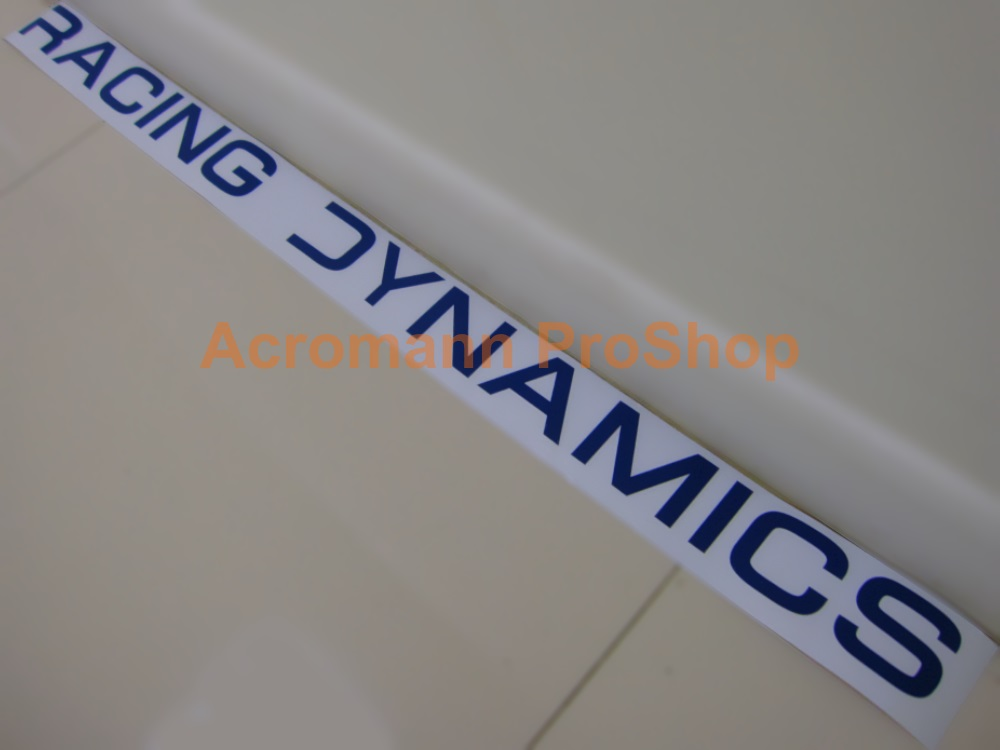 Racing Dynamics Windshield Decal (Style#1)